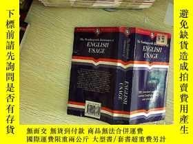 二手書博民逛書店ENGLISH罕見USAGE 英語用法Y203004