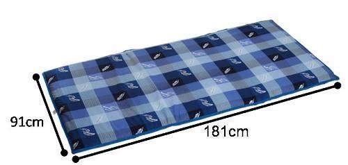 《家購網寢俱館》星辰系列-簡約兩用折疊床墊-單人
