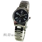 SIGMA 數字時尚鋼帶腕錶女款 大-黑