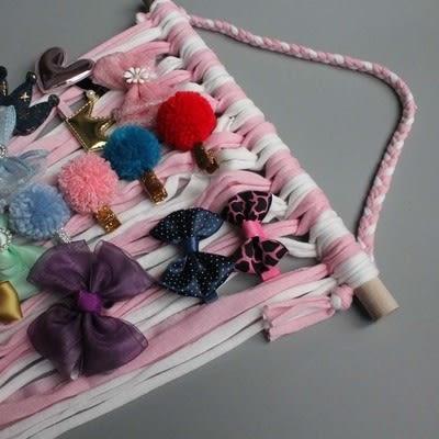 現貨 ins流蘇髮夾收納帶  5色《寶寶熊童裝屋》