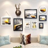 壁畫復古工業風房間裝飾品鹿頭壁掛餐廳墻飾咖啡廳服裝店背YYJ 麻吉好貨