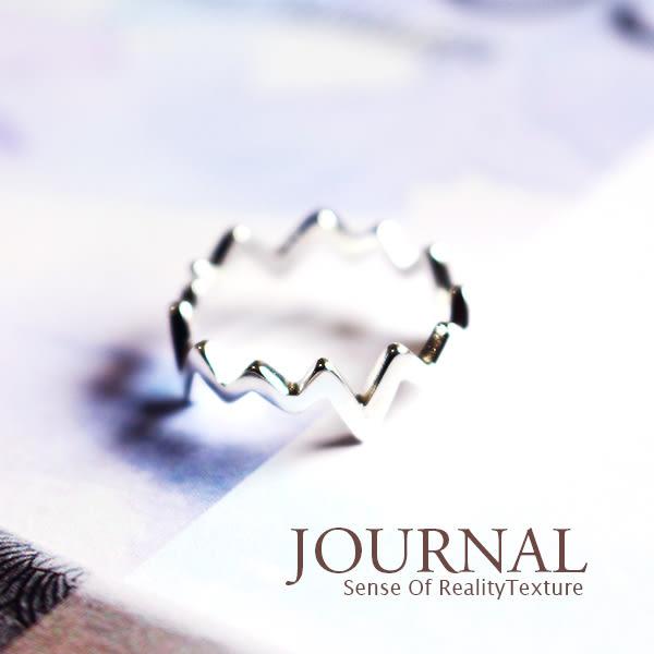 925純銀 極簡心頻 戒指 尾戒 關節戒 _質物日誌Journal