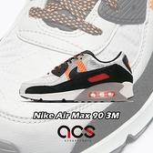 Nike 休閒鞋 Air Max 90 3M 黑 橘 白 男鞋 反光 氣墊 運動鞋 【ACS】 CZ2975-001