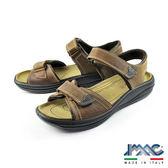 【IMAC】透氣休閒氣墊涼鞋 咖啡(51310-BR)