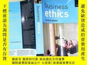 二手書博民逛書店business罕見ethicsY204315 business ethics. . ISBN:9787501