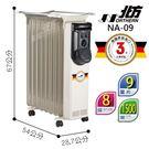NORTHERN 北方 葉片式 恒溫電暖爐 - 9葉片 NA-09 NR-09 NP-09 北方電暖器