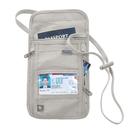 LEWIS N CLARK 掛脖 頸部掛袋 RFID 出國防盜錄 貼身小包 證件包 手機袋 (卡其)