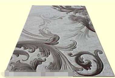3D地毯浮雕花純羊毛蠶絲客廳臥室【藍星居家】