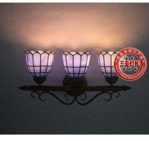 設計師美術精品館蒂凡尼正品燈具三頭鏡前壁燈客廳床頭過道鏡前燈飾
