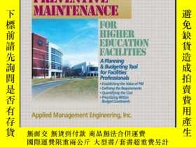 二手書博民逛書店Preventive罕見Maintenance Guidelines for Higher Education F