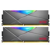 ADATA 威剛 XPG D50 黑色 16GB( 8GB*2) DDR4 3200Hz RGB 超頻 記憶體