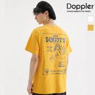 短T 美式沙灘女郎印花設計 短袖T恤【TJXT829】現貨+預購 Doppler