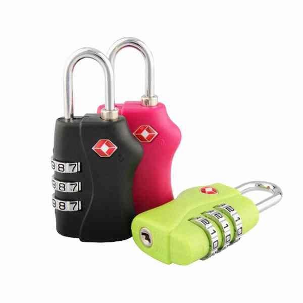 美國 TSA 正品 海關鎖 密碼鎖 出國 行李箱 手提箱 登機箱 旅行箱 數字鎖 健身房 『無名』 H11107