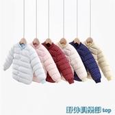 兒童羽絨服 嬰兒冬裝反季羽絨棉服嬰兒童內膽手工棉衣女寶寶棉襖男童冬款外套 快速出貨