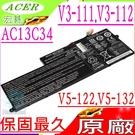 ACER AC13C34 電池(原廠)-宏碁 V-11,V3-111,V-111P,V3-112,V3-112P,V5-122P, V5-132,V5-132,V5-132P,31CP5/60/80