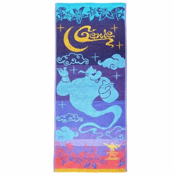 Marushin 丸真 毛巾 迪士尼阿拉丁 繽紛阿拉伯 34×80cm_RS71476