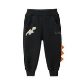 恐龍鰭造型加厚長褲 童裝 褲子
