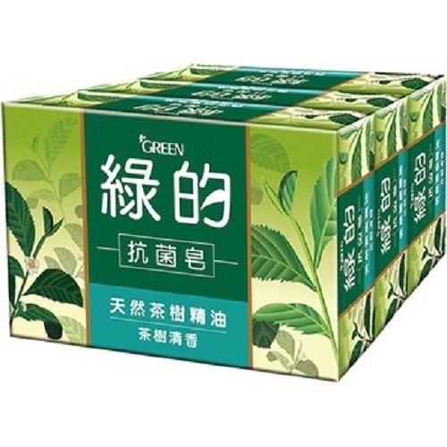 【綠的 GREEN】抗菌皂 3入100g*3