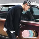 Doppler 大學T 情侶款 假兩件式開岔內刷毛大學T 現貨+預購 【W06G5432】