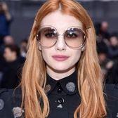 Chloe 太陽眼鏡 CE114SD 784 (金) 全球熱銷廣告款 金屬大圓框 墨鏡 # 金橘眼鏡