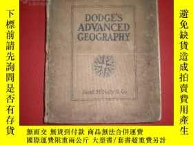 二手書博民逛書店光緒30年(1904年)地理-英文精裝本(Dodge s罕見ad