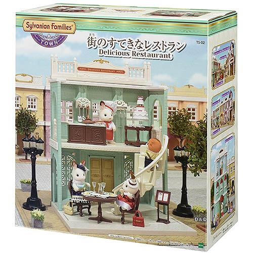 《森林家族-日版》城鎮 TOWN 系列 - 美味餐廳 ╭★ JOYBUS玩具百貨