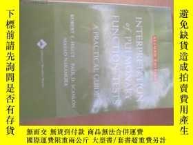 二手書博民逛書店8531INTERPRETATION罕見OF PULMONARY