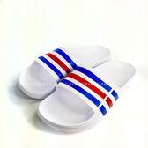 男款ADIDAS DURAMO SLIDE 超輕量防水運動拖鞋《7+1童鞋》7001白色