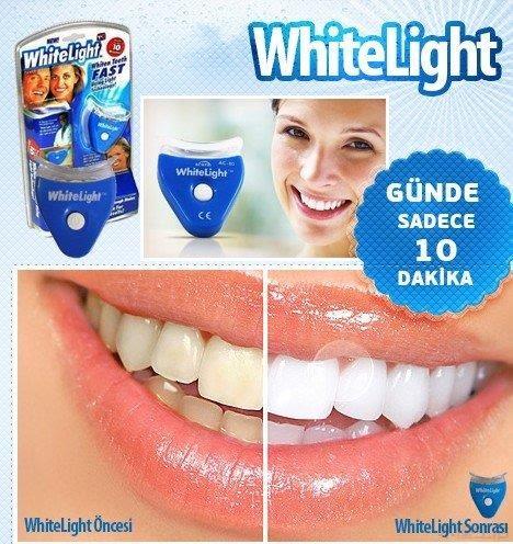 White Light LED冷光牙齒美白儀套裝 清潔牙齒 美齒神器 去污漬 殘留物