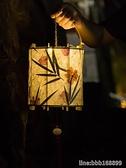 燈籠 新年創意木質 diy手工手提花燈花草紙燈籠材料包古風漢服宮籠配飾 星河光年DF