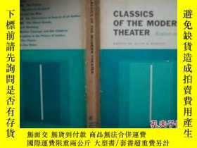 二手書博民逛書店Classics罕見of the modern theater: