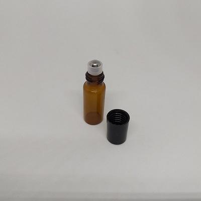 茶色玻璃滾珠瓶(5ml)/玻璃瓶/密封罐/收納罐