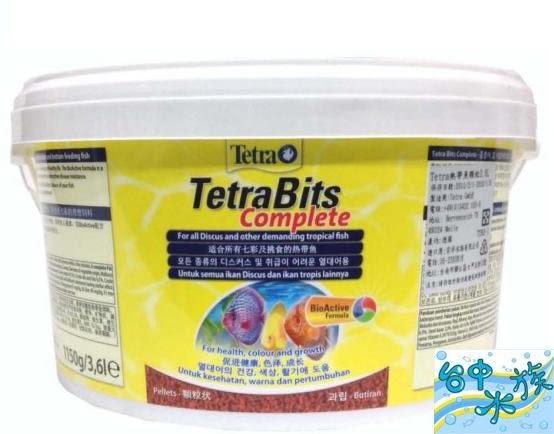 {台中水族} Tetra-德彩 熱帶魚顆粒飼料 3.6L  特價