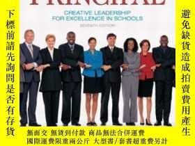 二手書博民逛書店The罕見Principal: Creative Leadership For Excellence In Sch