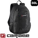 【Caribee 澳洲NILE 30L電腦背包《黑》】CE-6423/後背包/電腦背包/背包/商務包
