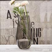 歐式玻璃花瓶 創意恐龍蛋造型干花插花花器 客廳富貴竹裝飾擺件 溫暖享家