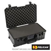 美國 PELICAN 1535 Air 輪座拉桿超輕氣密箱-含泡棉(黑) (公司貨)
