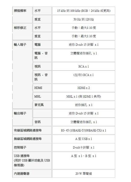 NEC UM352WG  3500ANSI流明 投影機     ◎順芳家電◎