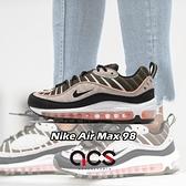 【五折特賣】Nike 休閒鞋 Wmns Air Max 98 卡其 黑 女鞋 運動鞋 【ACS】 AH6799-301
