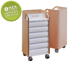 【YUDA 】樹德櫃曲木文件車MCA DH6H 耐重櫃分類櫃資料櫃新竹以北免