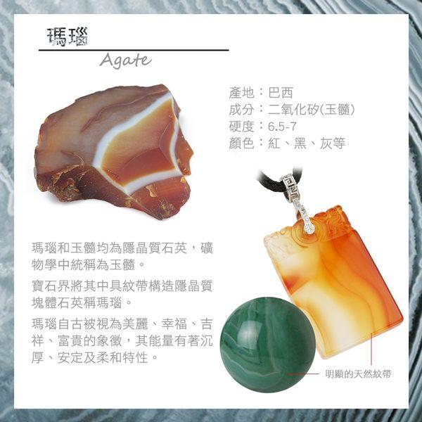 藍瑪瑙手鍊-設計師經典手創系列-漁火閃爍 石頭記