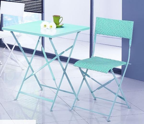 【南洋風休閒傢俱】戶外餐椅-卡翠娜戶外休閒鐵椅 餐椅 折疊椅 JX243-8