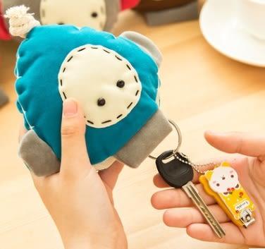 預購-韓版手工創意收拉式布偶鑰匙扣/鑰匙包
