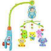 新生兒床鈴 寶寶0-6-12個月音樂旋轉兒童床頭搖鈴男女孩嬰兒玩具igo