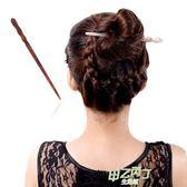髮簪 髮簪古風盤髮流蘇素簪簡約髮飾 盤髮器 醋酸頭飾品 現代盤頭簪子  快速出貨