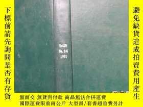 二手書博民逛書店Ultrasonics罕見Vol.29 No.1-6 1991Y