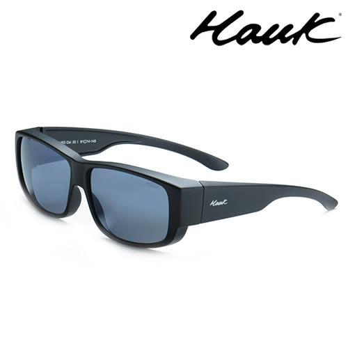 HAWK偏光太陽套鏡(眼鏡族專用)HK1003-02-1