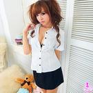 角色扮演服cosplay情趣用品 俏麗女秘書2件式(襯衫+短裙)OL套裝