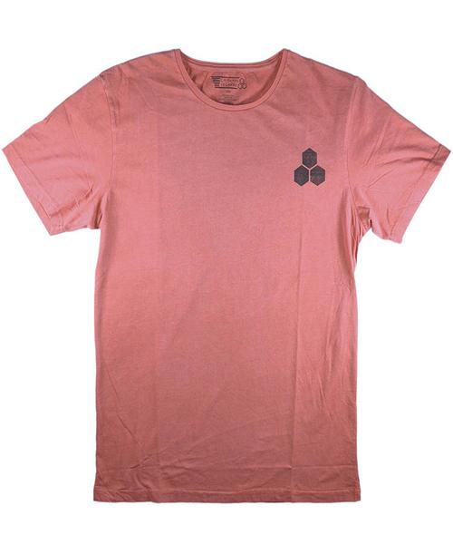 Channel Islands T恤 STAMPED LOGO TEE 衝浪第一品牌CI Surfboards - 男(淺玫瑰紅)