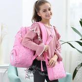 兒童書包小學生1-3-4-5-6年級超輕一韓版校園護脊雙肩包女童女孩 名購居家